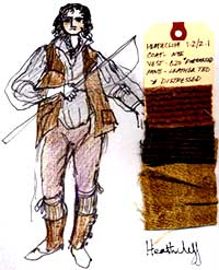 Heathcliff costume design