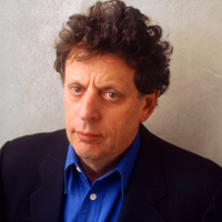 Philip Glass. Photo by Timothy Greenfield-Sanders
