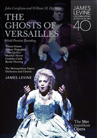 The DVD set showcases eleven complete operas including Corigliano's <em>The Ghosts of Versailles