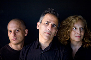 Red Poppy composers David Lang, Michael Gordon and Julia Wolfe. Photo by Peter Serling
